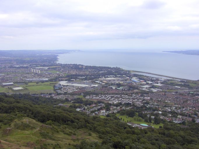 Belfast from the nose